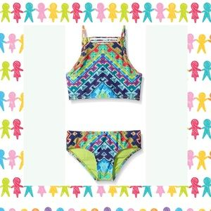 Nanette Lepore Girls Coral Reef Swimsuit